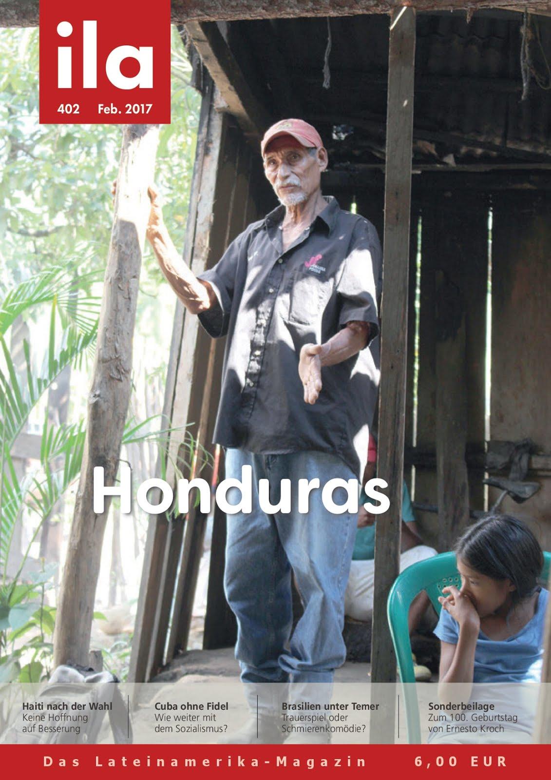 Zeitschrift ila zu Honduras erschienen