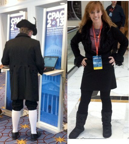 Sharyn Bovat at CPAC