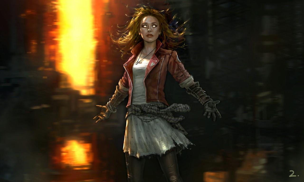 """La Bruja Escarlata en """"Los Vengadores: La Era de Ultron"""""""