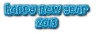 Banner Selamat Tahun Baru 2013