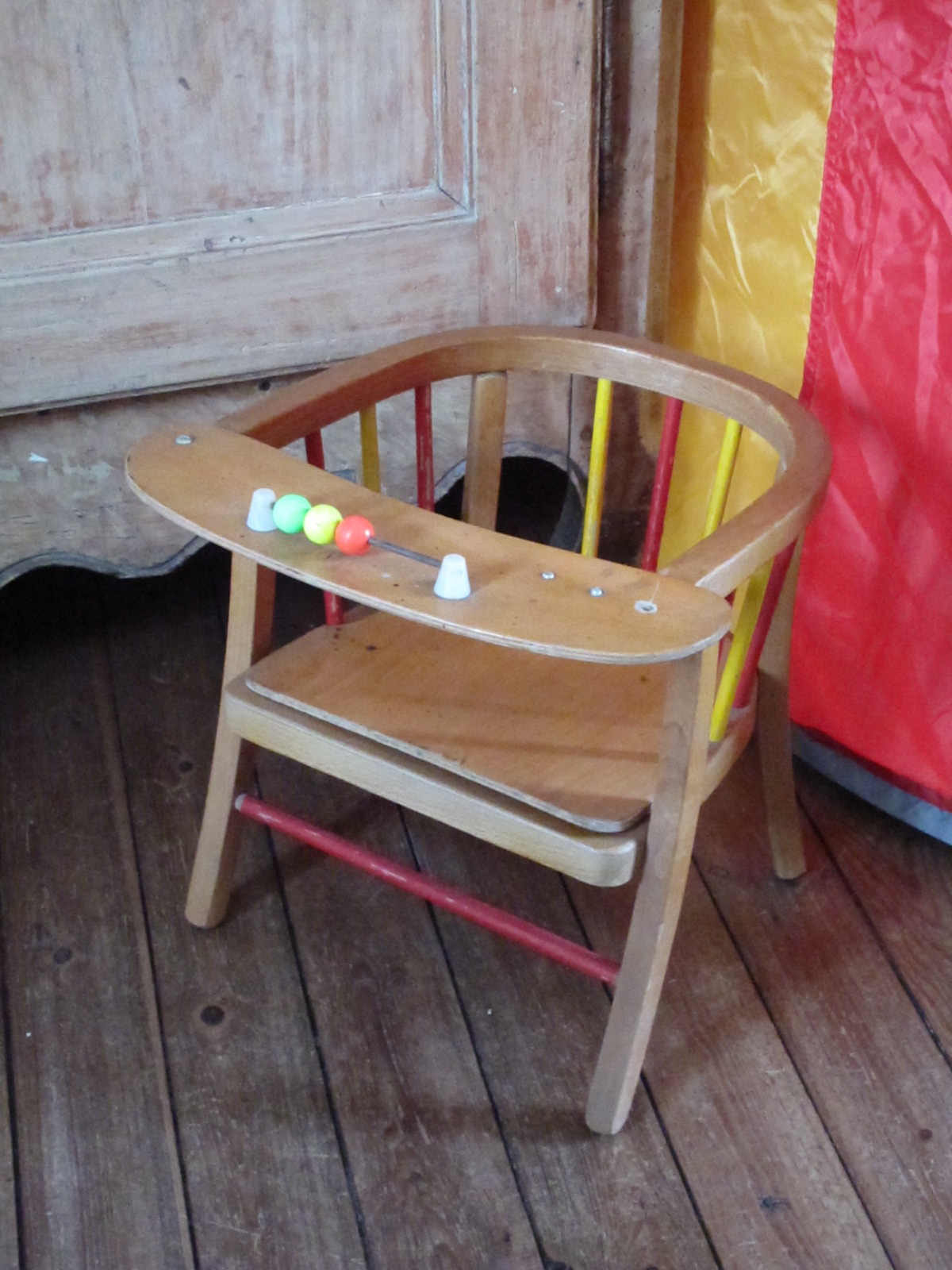 Dita vintage chaise pot enfant baumann for Chaise baumann