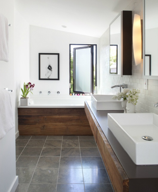 5 long bathroom ideas my paradissi for Long bathroom designs