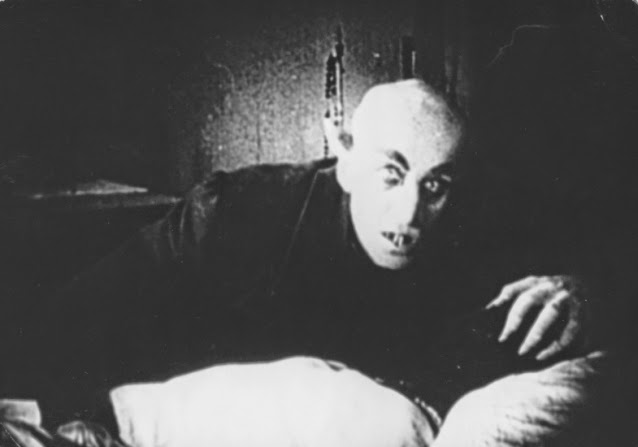 Max Shreck as the horrifying Count Orlok