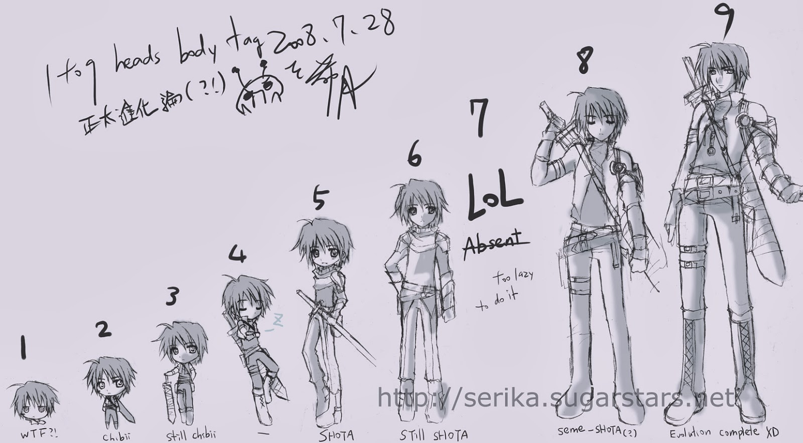 how to draw human body proportions anime