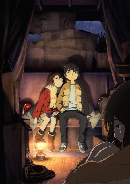 Nowy plakat anime Boku dake ga Inai Machi
