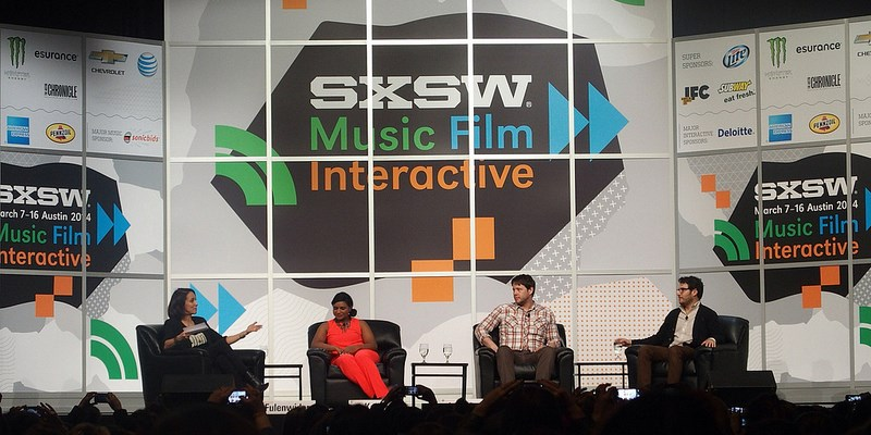 South by Southwest Goes Global on Social Media - infographic