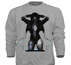 """Virtual Vixen"" Female Sweater"