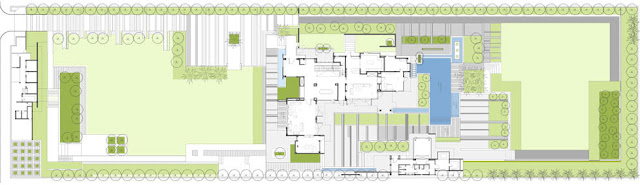 Floor plan of modern home