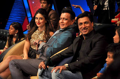 Kareena Kapoor on the sets of ZEE TVs Dance Ke Superstar