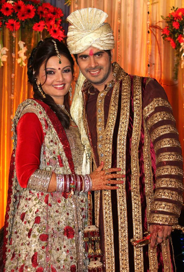 Deepshikha Recpetion Pic1 - Deepshikha Wedding Reception Pics