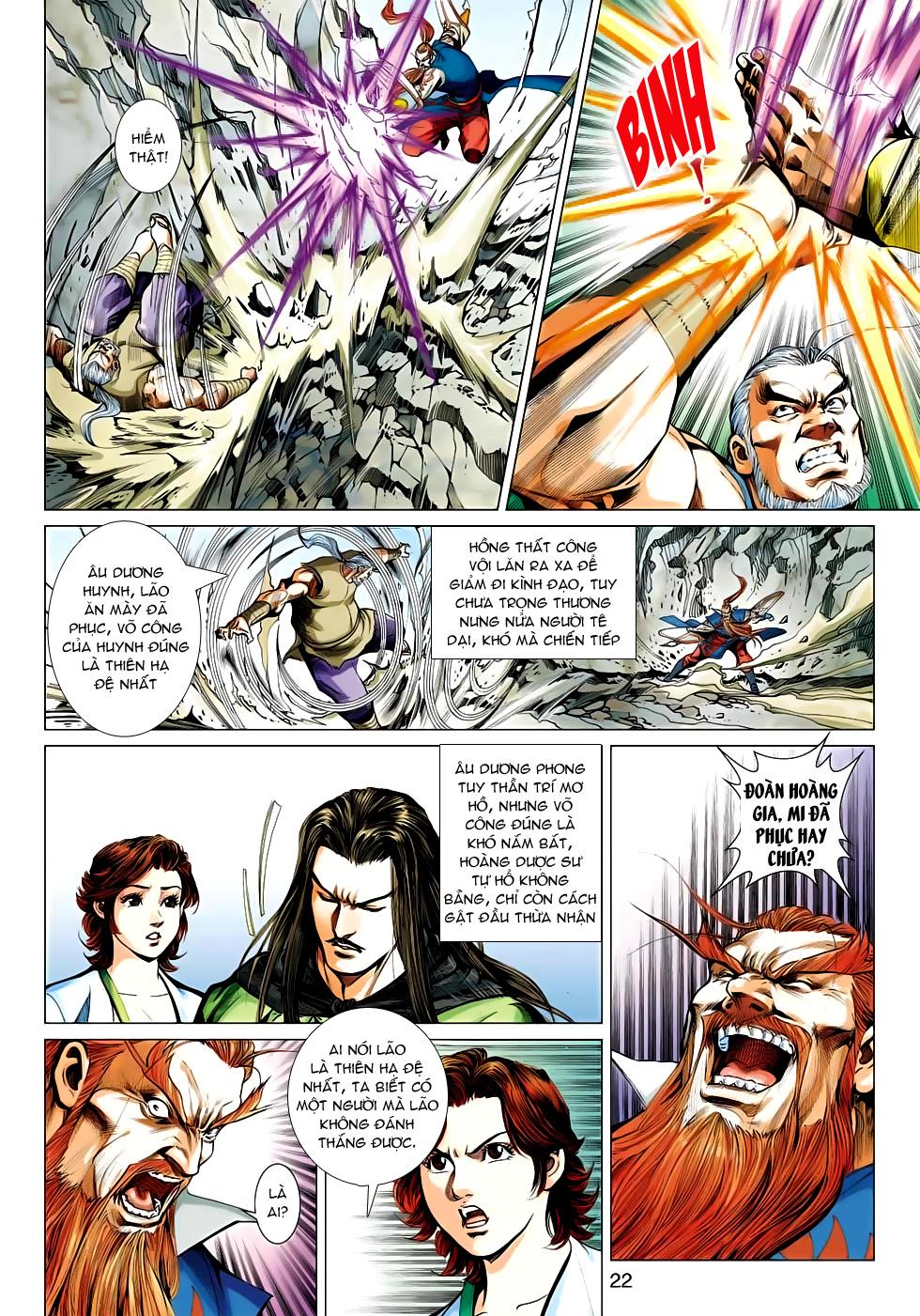 Xạ Điêu Anh Hùng Truyện chap 100 – End Trang 22 - Mangak.info