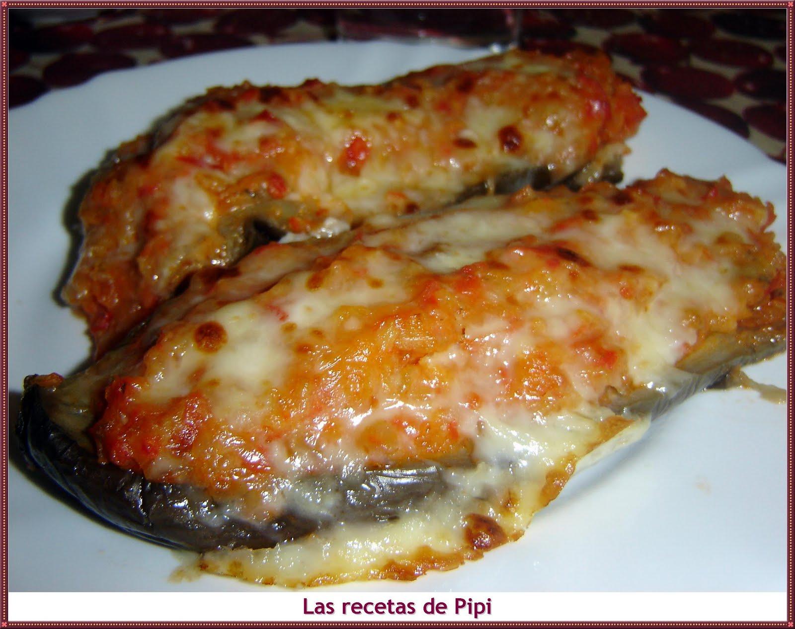 Cocinar Berenjenas Rellenas | Las Recetas De Pipi Berenjenas Rellenas De Verduritas
