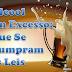 Álcool em Excesso: Que Se Cumpram as Leis.