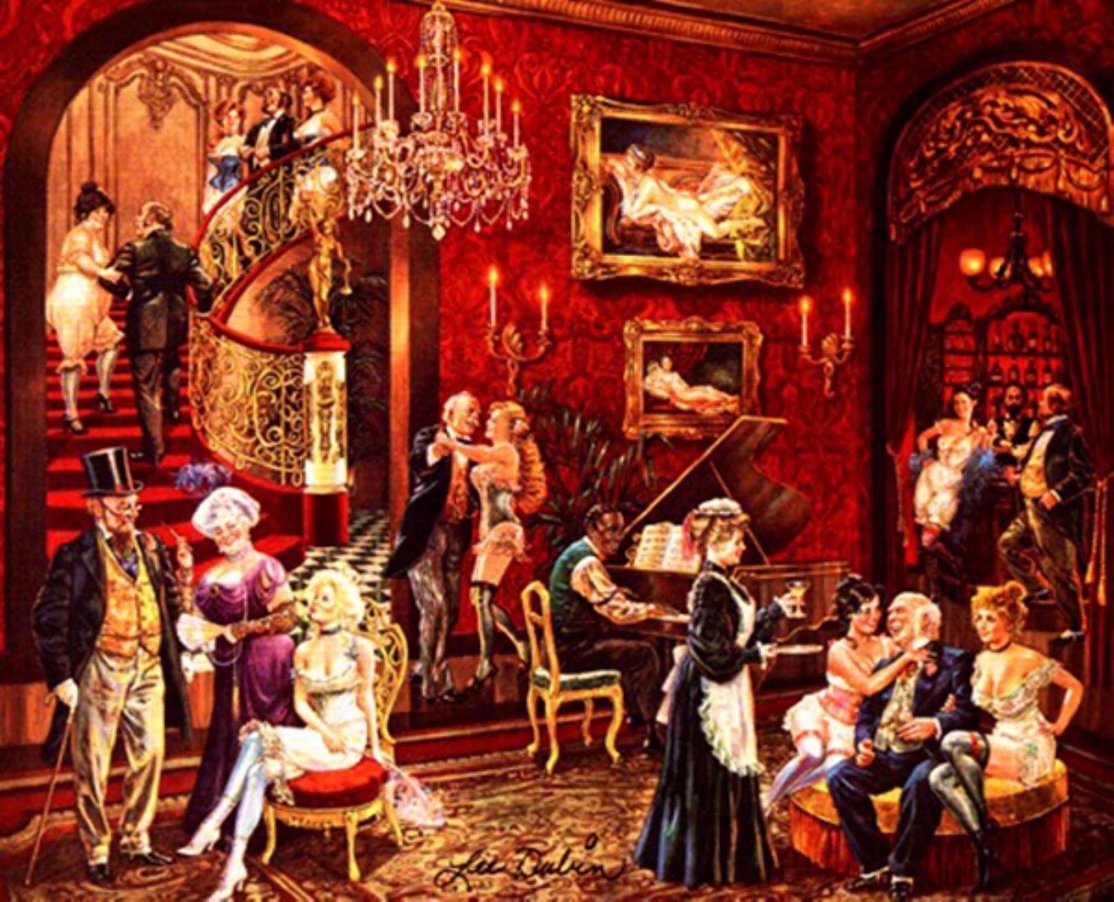 Картинки по запросу бордель 19 век