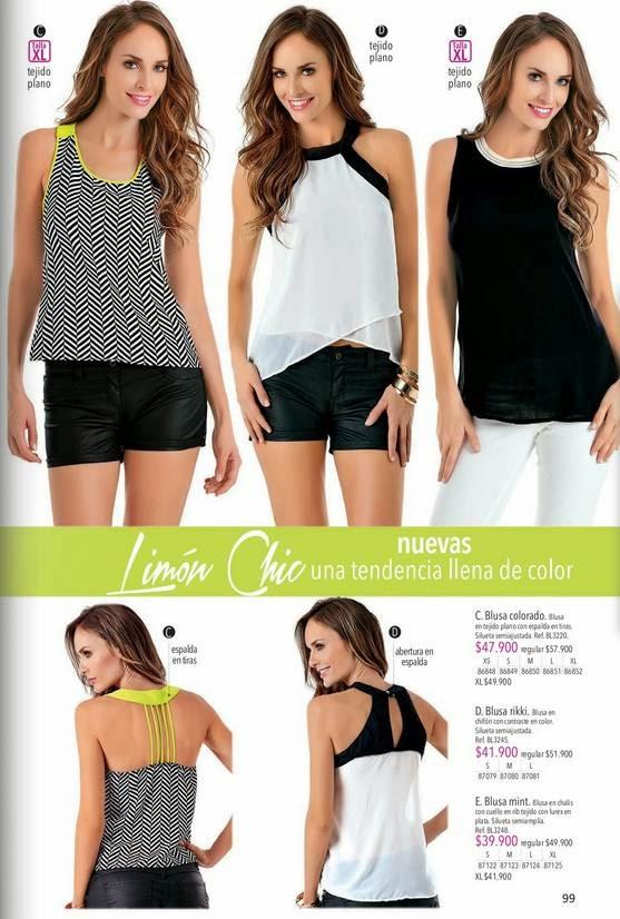 Blusas de Moda 2015 lebon c-2