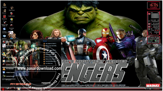 Download Windows Xp Pro Sp3 Avengers 2014