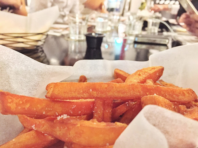 Monochrome Bistro - Sweet Potato Sticks