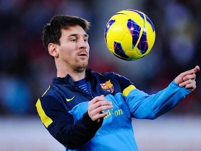 Barcelona Messi-Biografia e Fotos