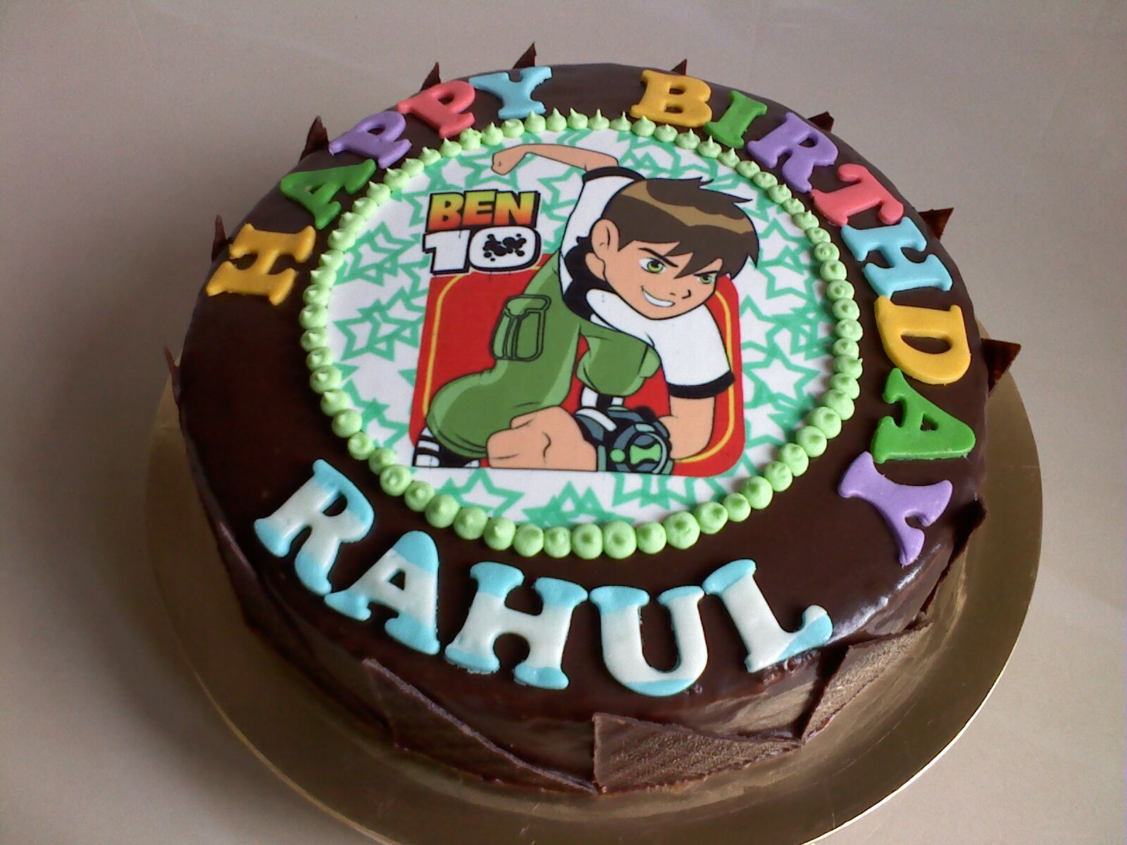 Birthday Cake Images Rahul : Vim s Cake Delight: Ben 10