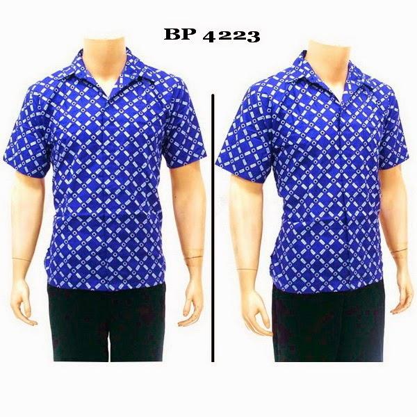 Baju Batik Kemeja Pria
