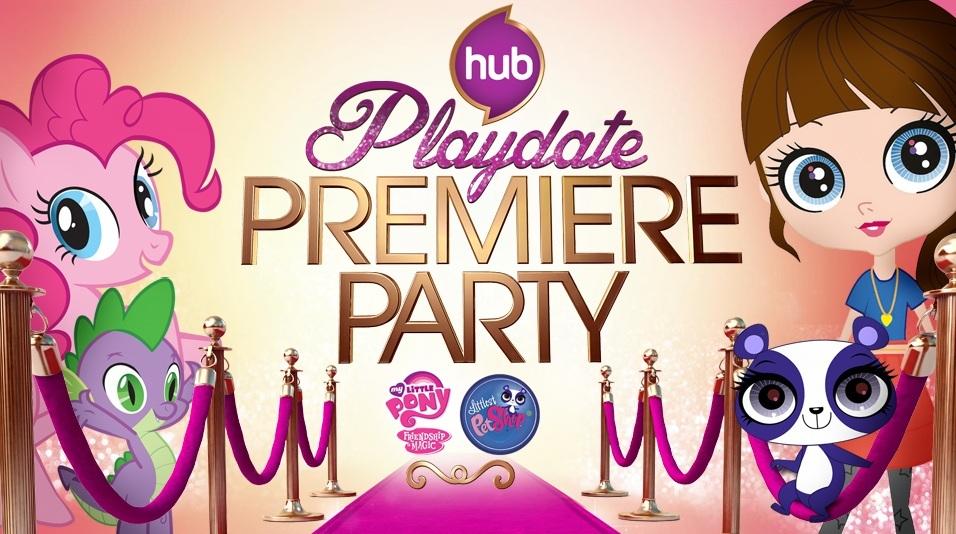Playdate Premiere Party: Season 3 My Little Pony & Littlest Pet Shop!