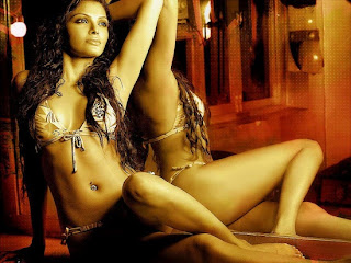 Sherlyn Chopra is shooting for Kamasutra 3D