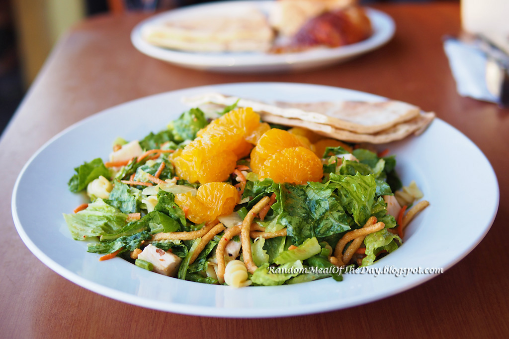 ... Meal Of The Day: The Chinese Chicken Salad at California Chicken Cafe