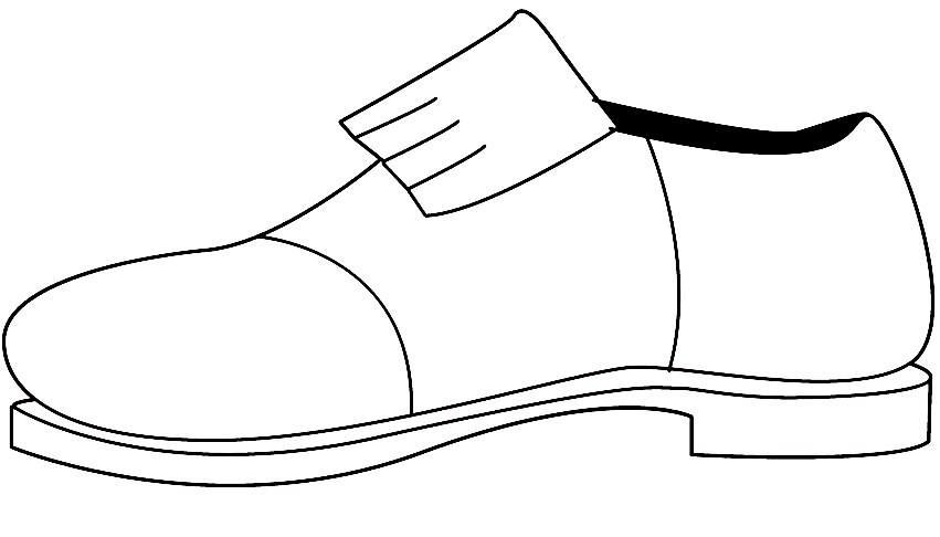 Desenhos De Sapato  T  Nis  Sand  Lia  Tamanco  Chinelo Para Pintar
