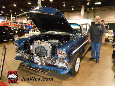 1956 Chevy Belair Jax Wax Chicago World of Wheels