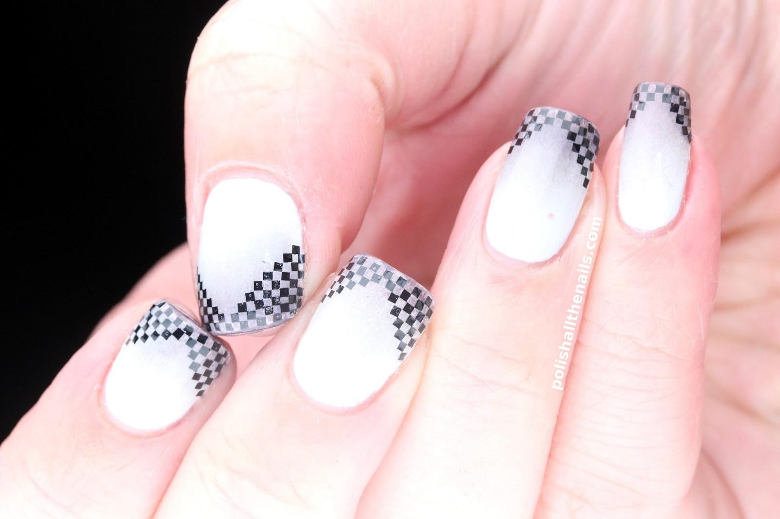 Красивые рисунки на квадратные нарощенные ногти фото