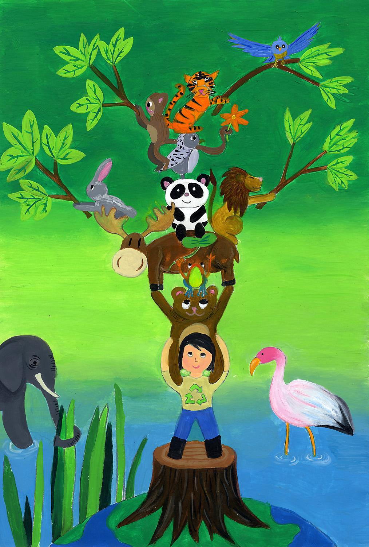 Conservacion del medio ambiente dibujos - Imagui