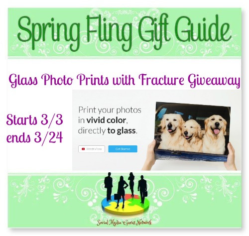 Glass Photo Prints with Fracture Giveaway