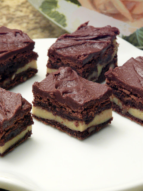 Thibeault's Table: Marbled Cream Cheese Brownies