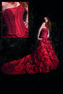 red wedding dresses04