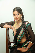 Myna hot half saree photos-thumbnail-16
