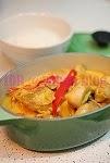 荔枝紅咖喱雞