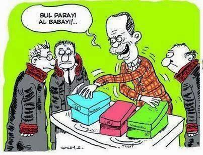 Bul Parayı Al Babayı Tayyip Erdoğan Ayakkabı Kutusu yolsuzluk