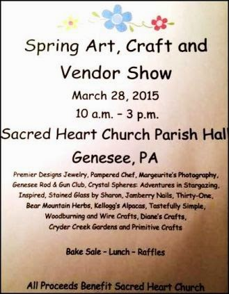 3-28 Spring Art, Craft & Vendor Show