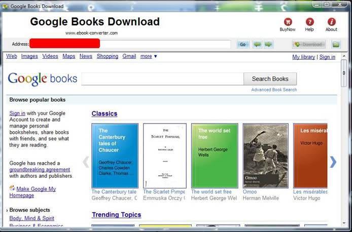 comment telecharger les livres google books gratuitement