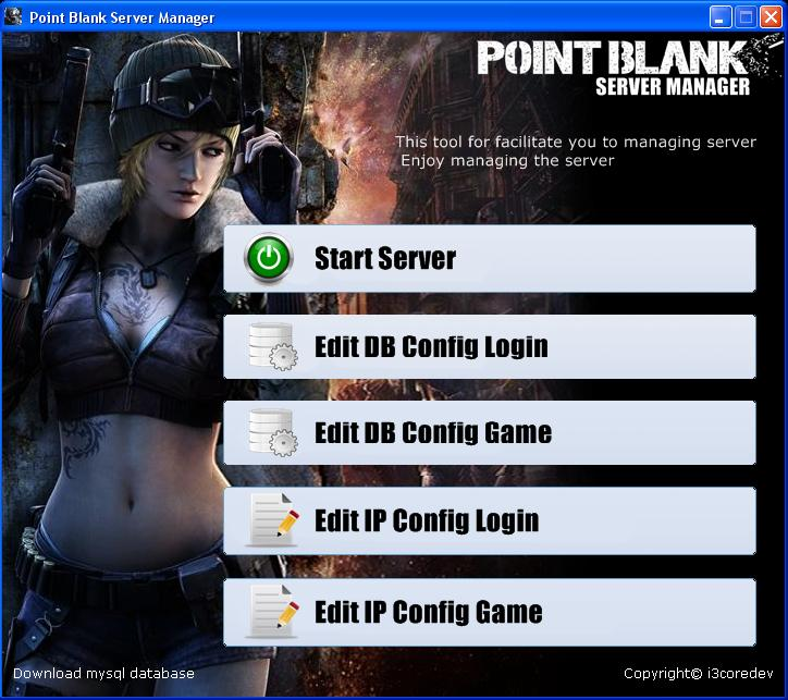 servermanager Download Game PB Point Blank Offline 2013