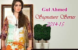 Gul Ahmed Signature Dresses