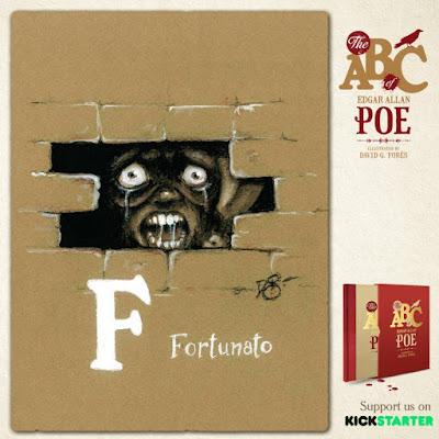 campaña de financiación para este proyecto basado en Edgar Allan Poe