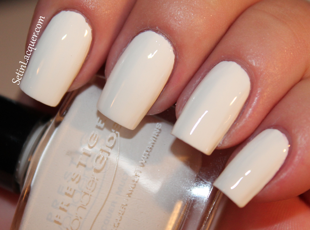 Prestige Cosmetics nail lacquer - Snow