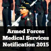 Armed Forces Medical Services Notification 2015