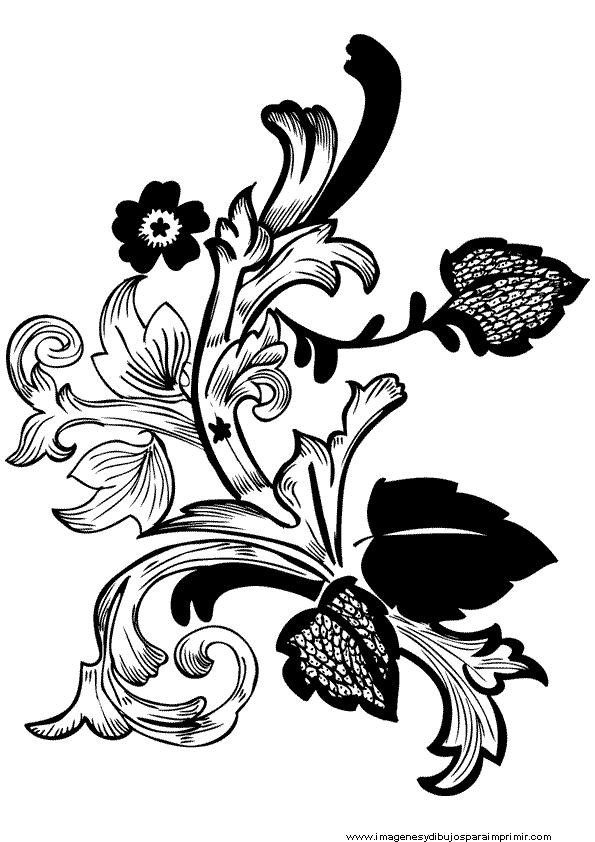 Imagenes De Flores En Blanco Y Negro