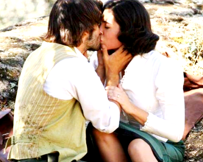 Maria e Gonzalo bacio
