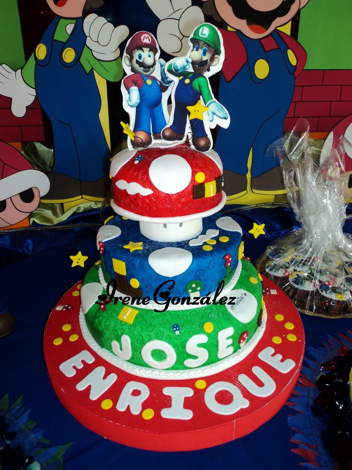 Torta De Mario Bros