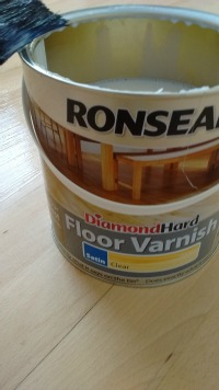 Diamond Hard Floor Varnish - Our Handmade Home