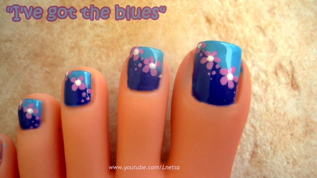 Lnetsa S Nailart Toe Nail Design And Short Nails Version