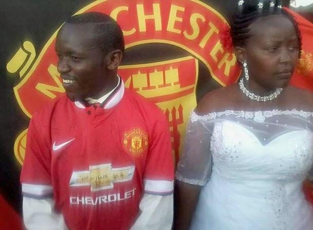 Fanático pelo Manchester United